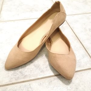 Forever 21 faux leather flats size 8